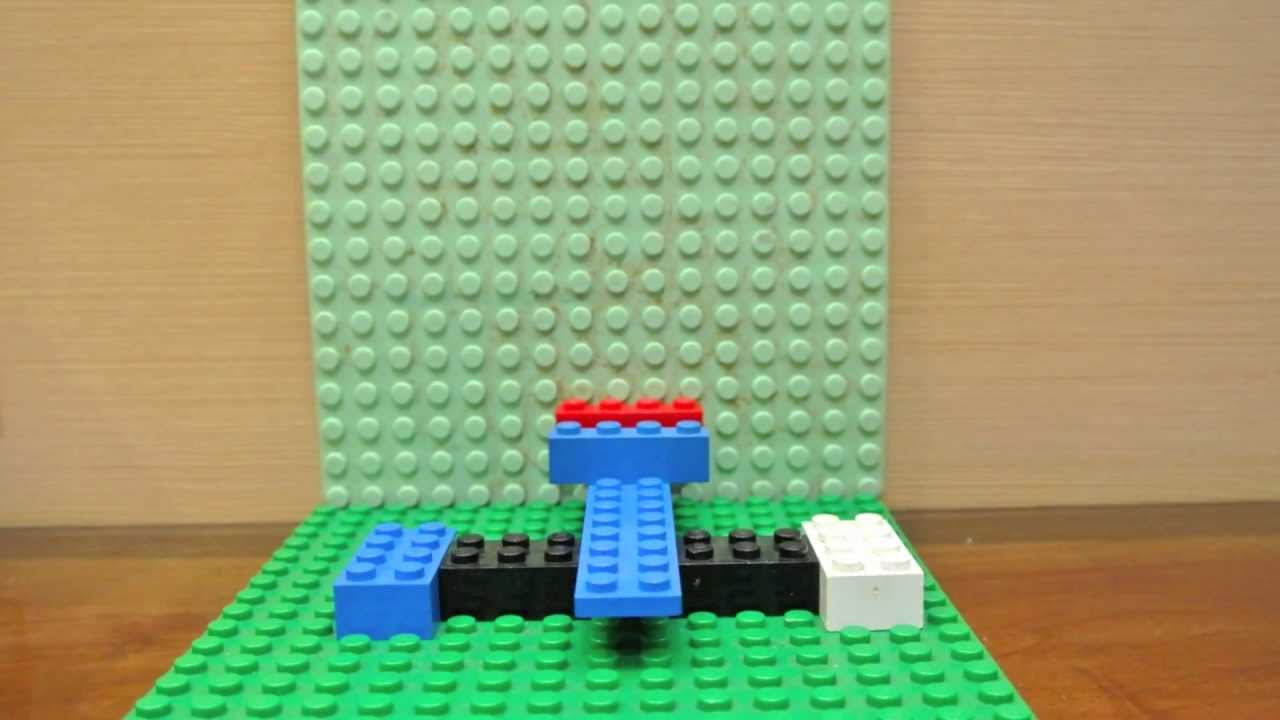 How To Build A Very Simple Lego Catapulthd Youtube