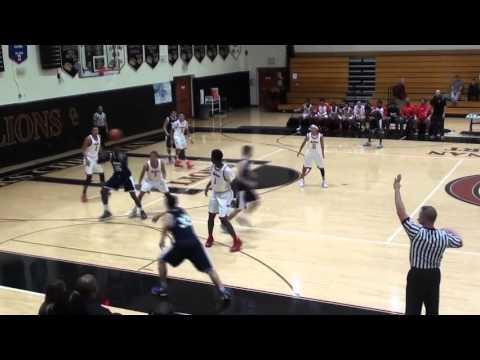 San Dimas Basketball San Gabriel Academy v. Burroughs Burbank 12-12-15