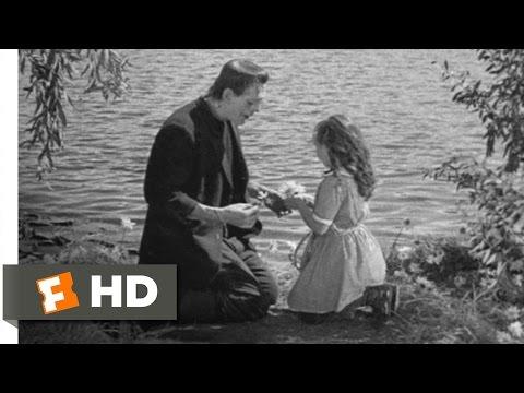 Frankenstein (6/8) Movie CLIP - The Monster Befriends Maria (1931) HD Mp3