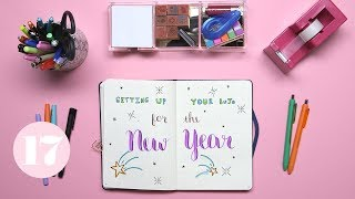 2018 Bullet Journal Setup | Plan With Me