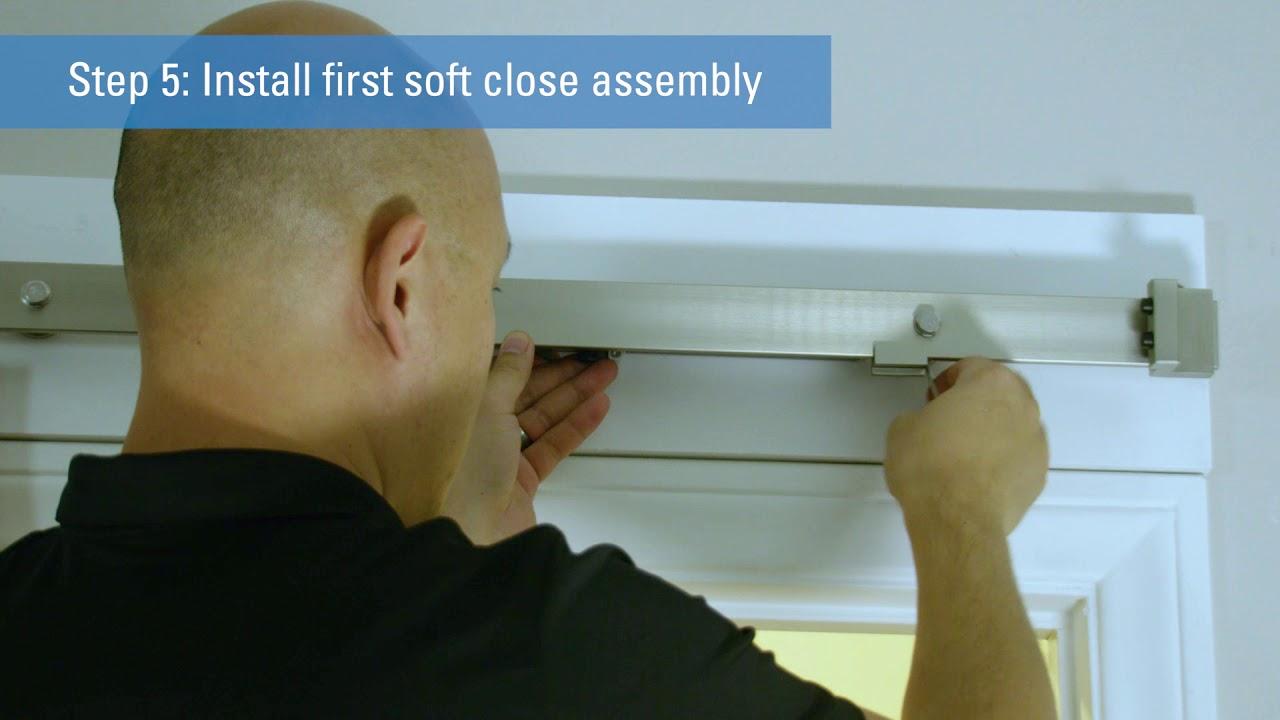 Interior Sliding Door Soft Close Installation | National Hardware