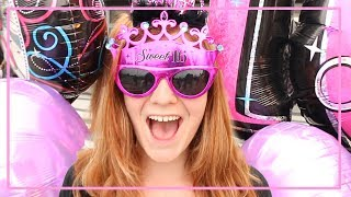 Emily's 16TH BIRTHDAY!!!! Big surprises, New CAR and  a message to my daughter