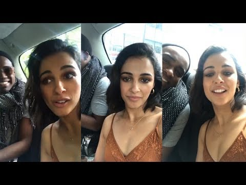 Naomi Scott Kimberly Pink Ranger  Instagram Live Stream  16 September 2017