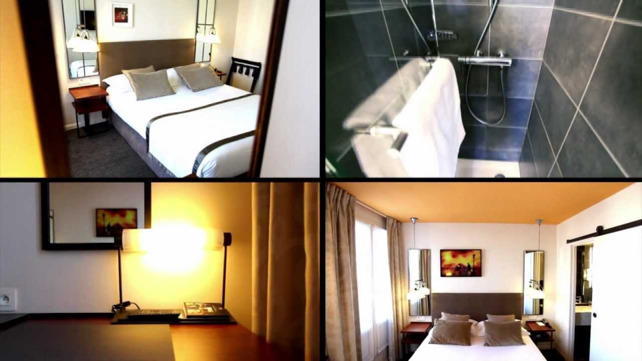 H tel marais bastille youtube for Bastille hotel