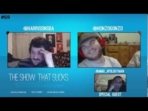 The Show That Sucks #69 Tootsee Roll - With Special Guest Apologyman