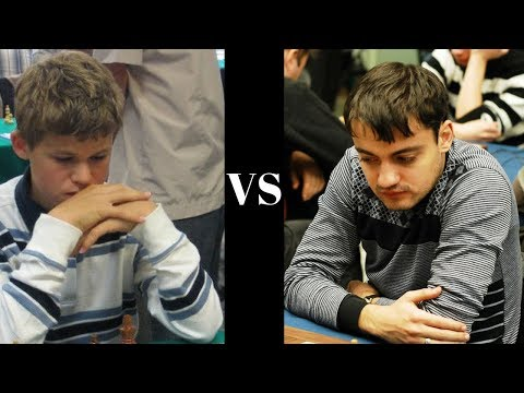 Magnus Carlsen's Slav Defence hack attack vs Andriasian at the age of 12 years old!