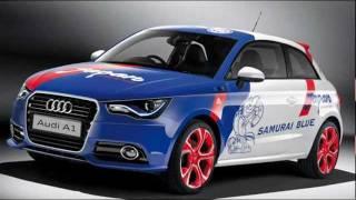Audi A1 Samurai Blue 2012 Videos