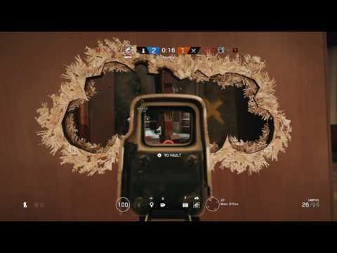 1v5 clutch in rainbow six siege