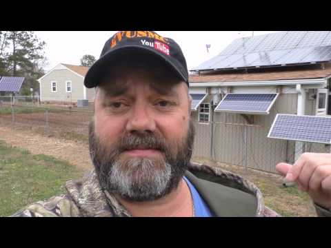 12 Volt Off Grid Solar Battery Bank Cabinet Build How To By KVUSMC Pt 3