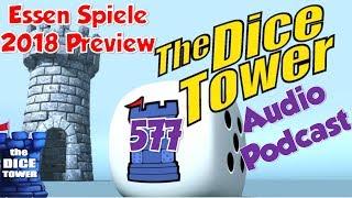 Dice Tower 577 - Essen Spiele 2018 Preview