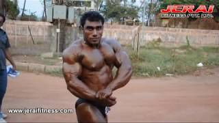 Sangram Chaughule Mr. india 2010, GOA - JERAI FITNESS EQUIPMENT-01.mpg