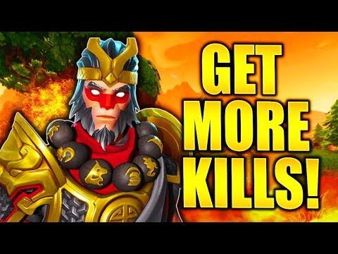 HOW TO GET MORE KILLS in FORTNITE HOW TO GET HIGH KILL WINS and HIGHER KILL GAMES IN FORTNITE!