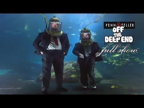 """Penn & Teller """" Off The Deep End """" 2005 - Full Show"""