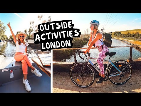 Best Outdoor Things To Do in London Vlog