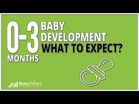 0 - 3 Months baby development: what to expect?