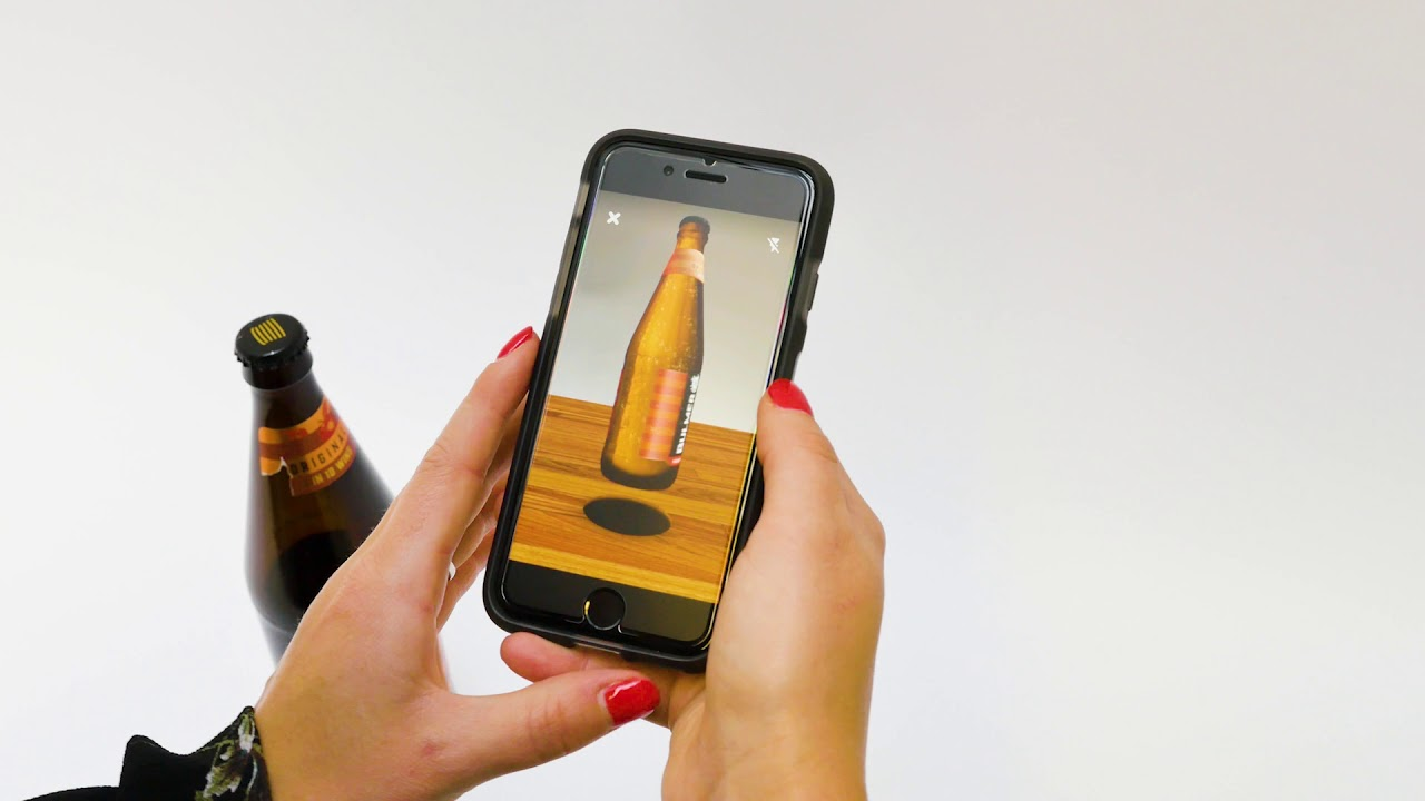 augmented reality for packaging shazam bulmers youtube