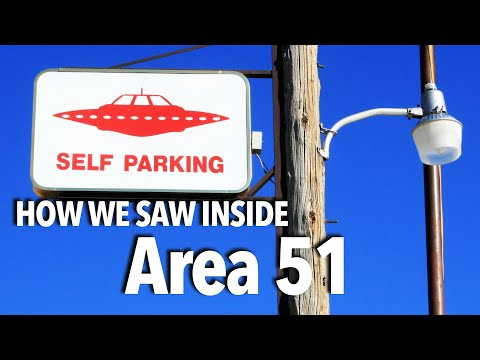 Revealing Area 51: Seeing a UFO near Area 51