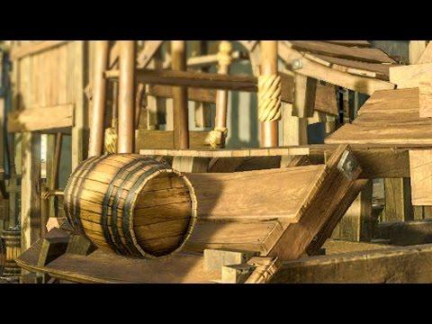 Working Barrel Transportation! :: Planet Coaster