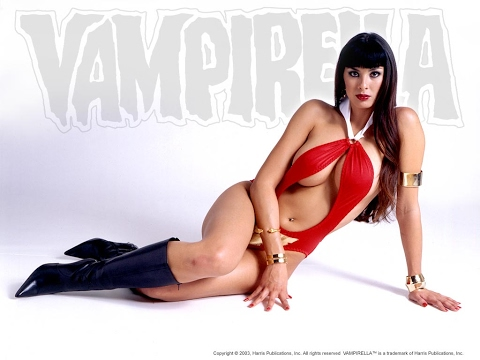 Vampirella in cosplay