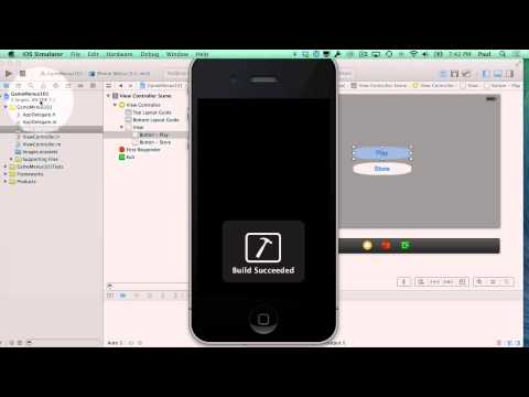 iPhone Game Tutorial 1 - A Beginners Guide to iPhone Game Menus with UIKit
