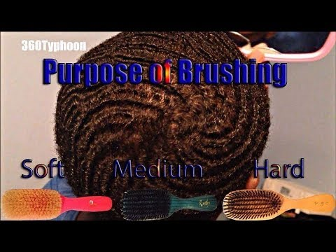 360 WAVER'S HOW TO BRUSH WAVE'S ON ALL SIDE'S