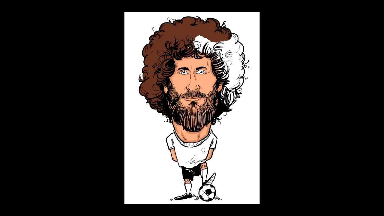 Tutorial Karikaturist und Schnellzeichner Marcel Bender zeichnet