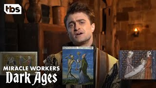 Miracle Workers: Dark Ages | Watch the Cast Try to Caption Medieval Memes | TBS