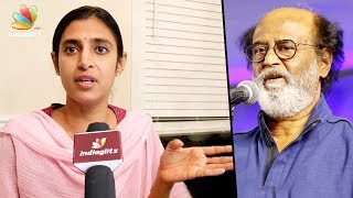 Kasthuri explains her tweet on Rajinikanth's Political Entry Controversy | Interview