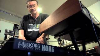 KORG KingKorg : Filtre OB vs OBERHEIM OB-1 par Olivier Briand (La Boite Noire)
