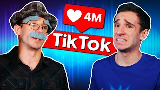 OLD MAN TRIES TIKTOK?