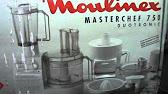 Moulinex Masterchef 8000 - YouTube