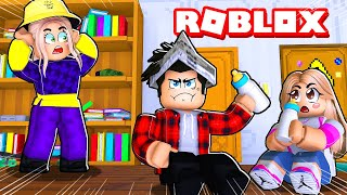 VIREI BABÁ DOS PIORES BEBÊS NA CRECHE DO ROBLOX! (Twilight Daycare)