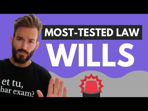 Wills, Trusts, and Estates (Wills) Bar Review: Most Tested Areas of Law on Bar Exam [Preview]