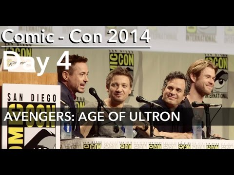 Comic-Con 2014: AVENGERS: AGE OF ULTRON Panel; feat ENTIRE CAST (ALMOST)
