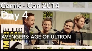 AVENGERS: AGE OF ULTRON Panel, Comic-Con 2014; feat ENTIRE CAST (ALMOST)
