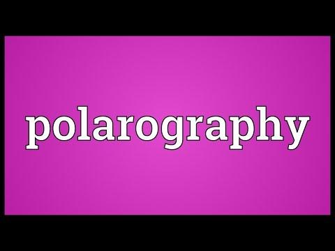 Header of polarography
