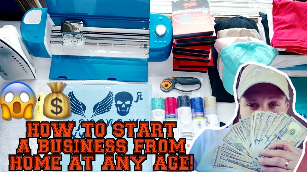 how to start a business at a young age