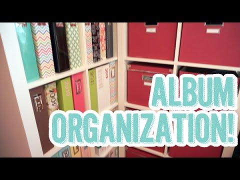 500: My Updated Scrapbook Album Organization