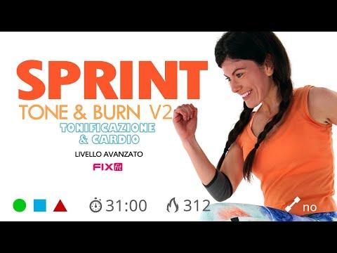 Power Tone & Burn V2 - Allenamento Cardio HIIT + HIIT Total Body