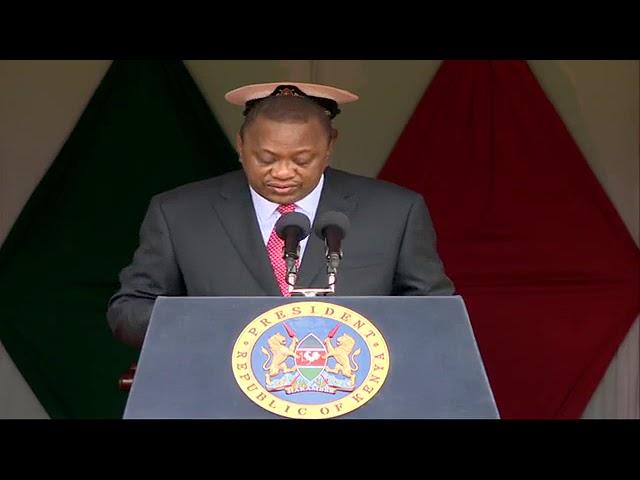 William Ruto and Uhuru Kenyatta Speeches Today  During Madaraka Day Celebrations