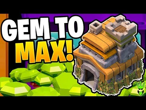 GEMMING TO MAX FOR MY SHOT AT $7000 - TH7 Tournament - Clash Of Clans