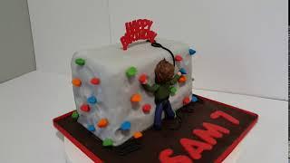 Simply Cakes By Caroline   Huddersfield Climbing Wall Birthday Cake