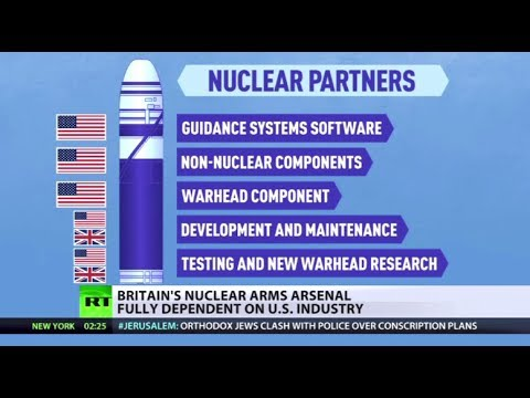 Dependent Defense: UK nuclear arsenal fully reliant on US industry