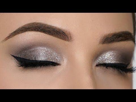 QUICK & EASY Silver Smokey Eye Makeup Tutorial thumbnail