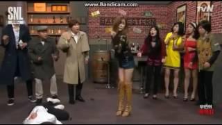SNSD Tiffany Gee Dance Funny SNL Korea