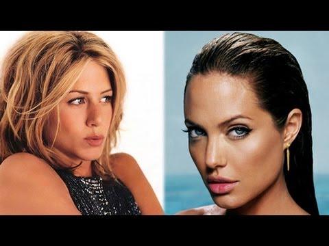 Jennifer Aniston vs Angelina Jolie: Hollywood down