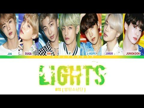 ( SUB INDO ) BTS - Lights (방탄소년단 - Lights) [Color Coded Lyrics/Rom/Ind/terjemahan Indo)