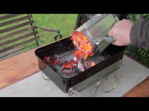 Weber go anywhere with craycort cast iron grates youtube for Ersatzteile weber grill