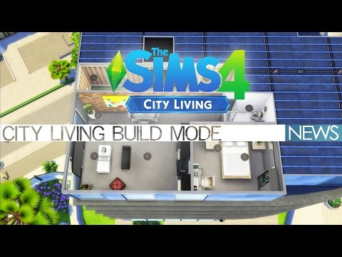 The Sims 4 City Living - Build Mode (exclusive preview)