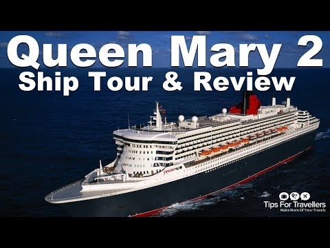 Cunard Queen Mary 2 Video Tour Made on Winter Transatlantic Crossing